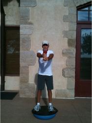 Golf Fitness Bosu Squat 7